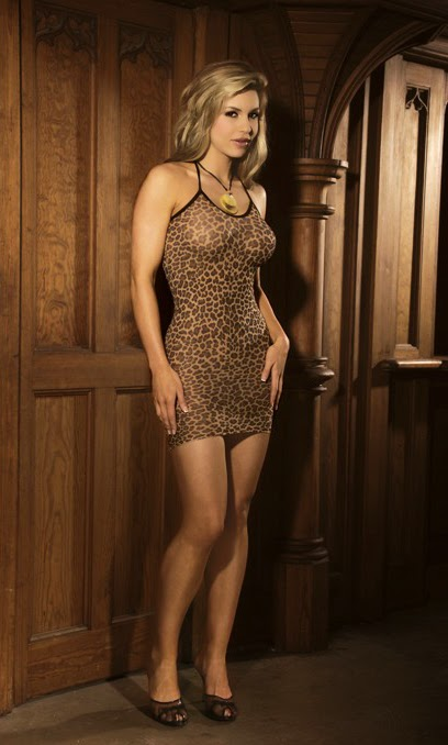 Leopard print slip mini dress