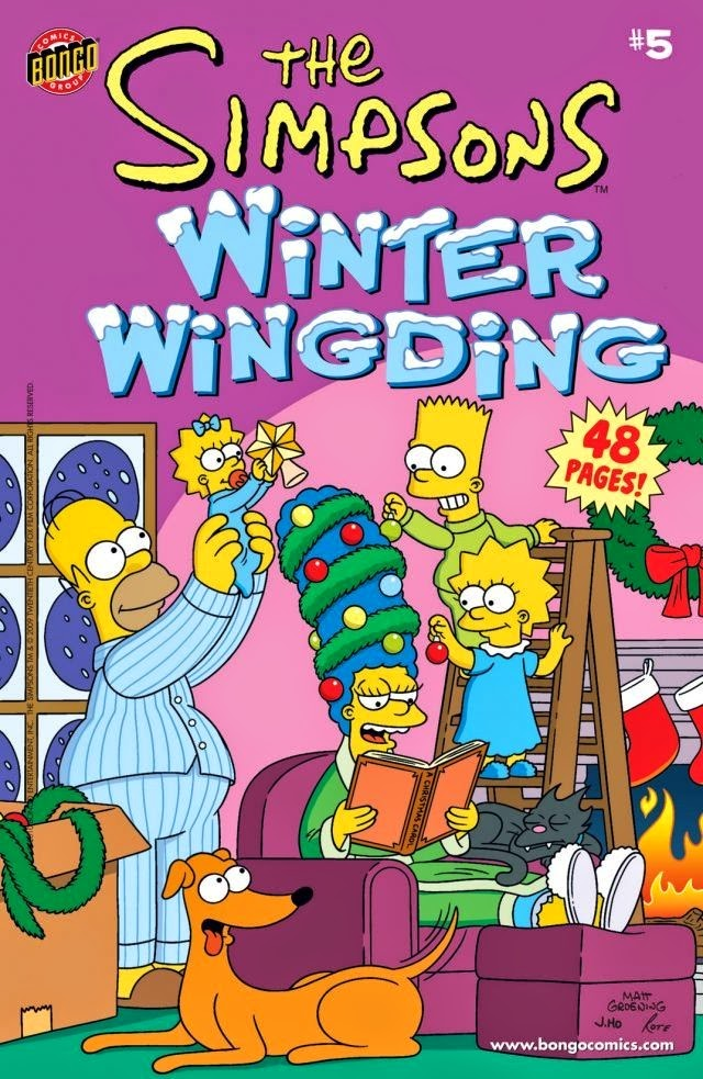 The Simpsons Winter Wingding #5