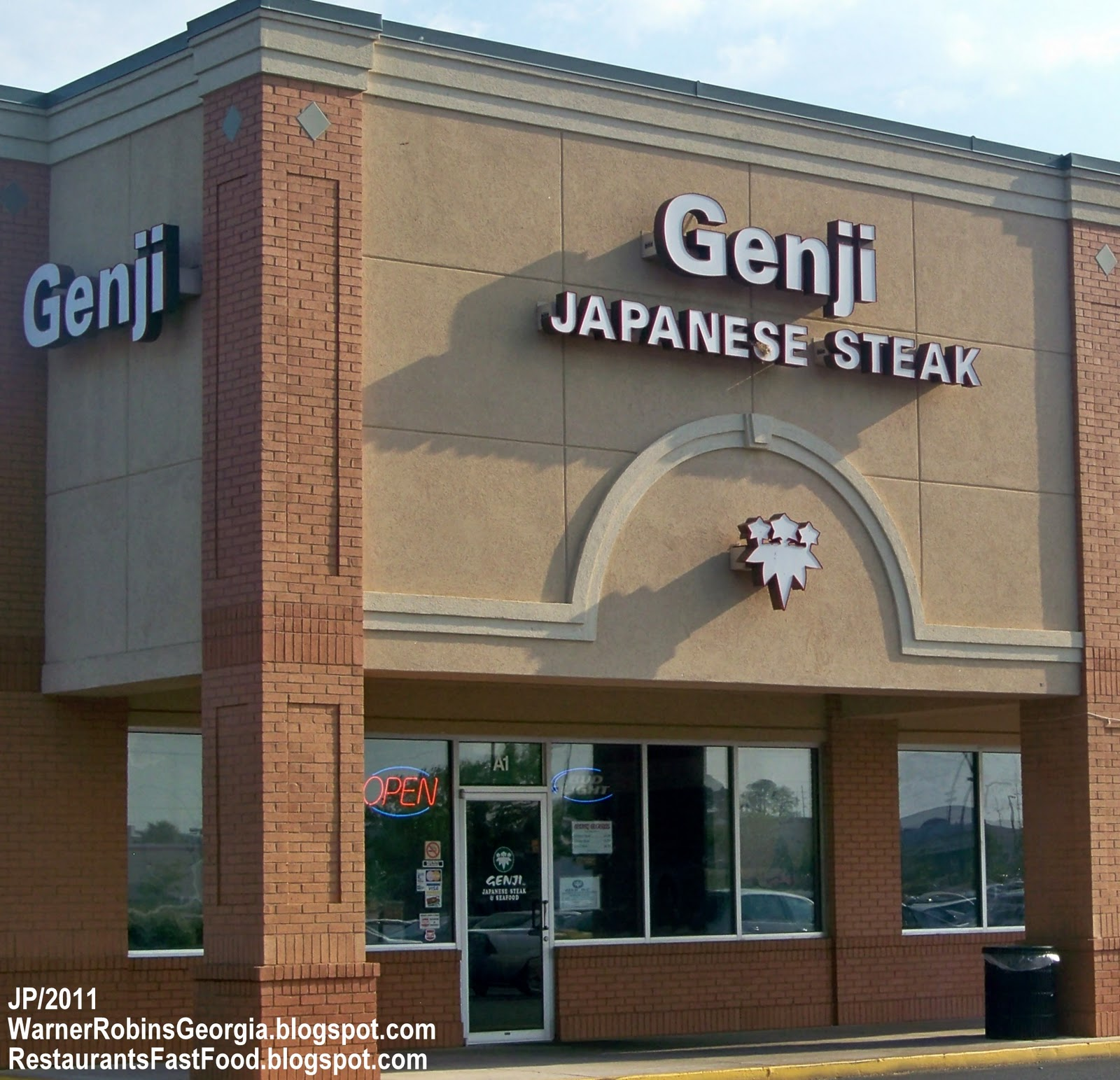 Genji Warner Robins Georgia Anese Steakhouse Seafood Restaurant Watson Blvd Steak House Houston County Ga