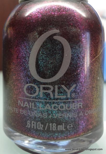 Dettaglio colore smalto Orly Galaxy Girl