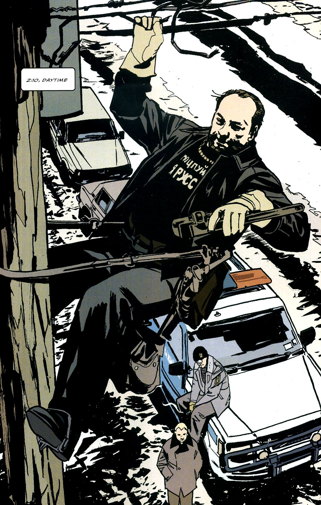 Read online The Winter Men comic -  Issue #4 - 12