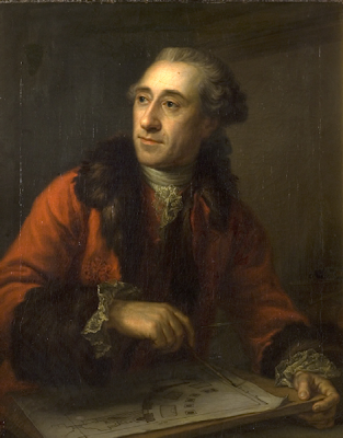 Portrait of Nicolas-Henri Jardin by Peder Als, 1764