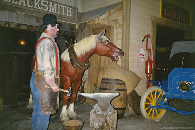 World Motion Blacksmith horse Epcot Walt Disney World 1993