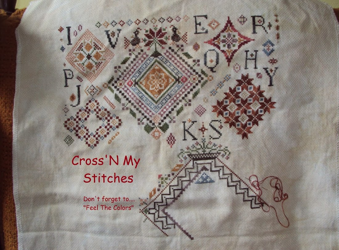 Cross'N My Stitches