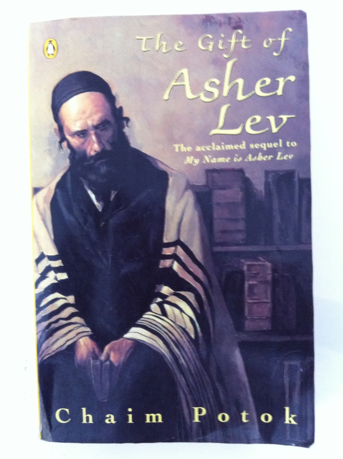 a review of chaim potoks novel my name is asher lev He recreated the painting the brooklyn crucifixion, which the character asher lev painted in the book my name is asher lev legacy chaim potok has had a considerable influence on jewish.