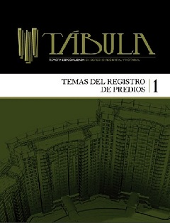 Revista Tbula - Portada