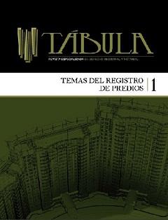 Revista Tábula - Portada