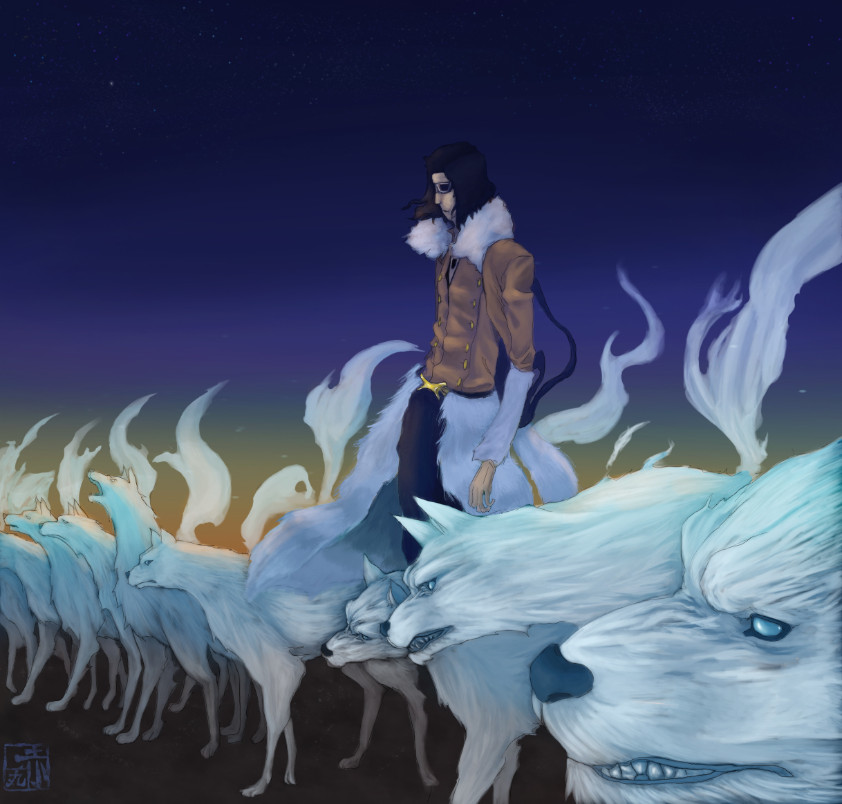 coyote starrk 14 fan arts your daily anime wallpaper and