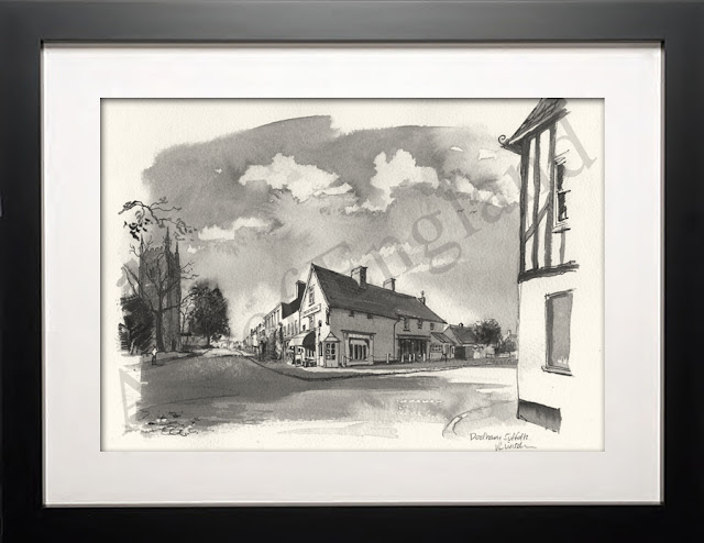 Dedham Essex drawing