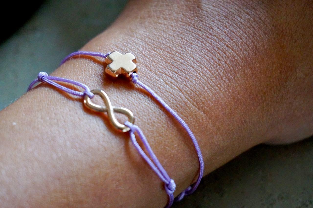 Verstellbare Knoten Armband DIY