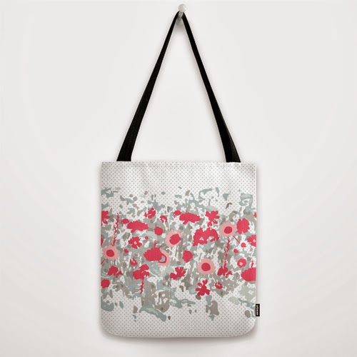 """vintage picnic"" tote bag by Oh, Hopscotch on Society6."