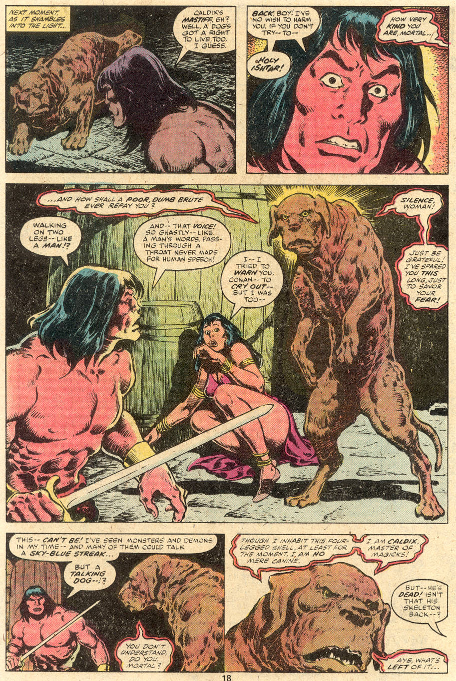 Conan the Barbarian (1970) Issue #114 #126 - English 12