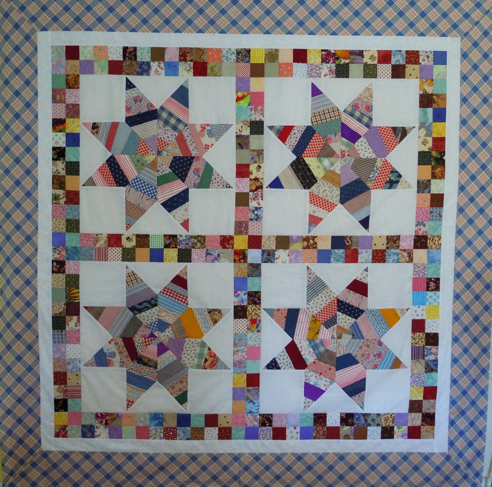 Quilting Designs Sashing : Quilting through Rose-colored Trifocals!: Sashed Quilt Settings -- Pieced Sashing