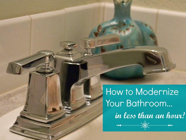 diy bathroom faucet installation