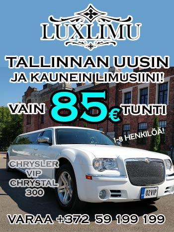 Elämän luksusta Tallinnassa!