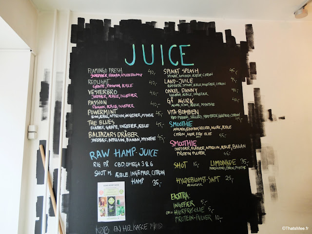 Juicy, Bar à Smoothies Copenhague