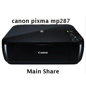 Download Driver Printer dan Scanner Canon PIXMA MP287