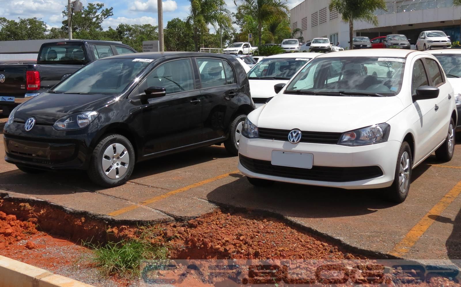 Volkswagen up! Take-up!