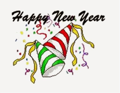 Free Happy New Year Celebrations Clipart 2015