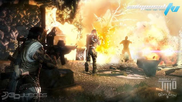 Army of Two The Devils Cartel Xbox 360 Región Free