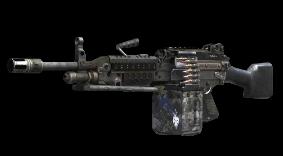 black ops 2 machine guns