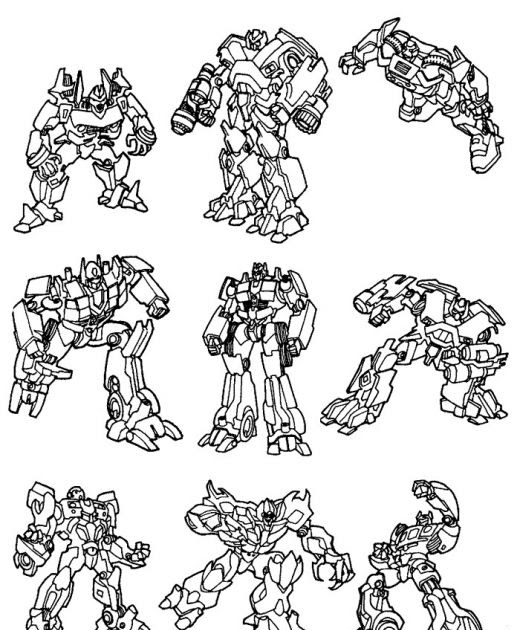 transformers halloween coloring pages - photo#30