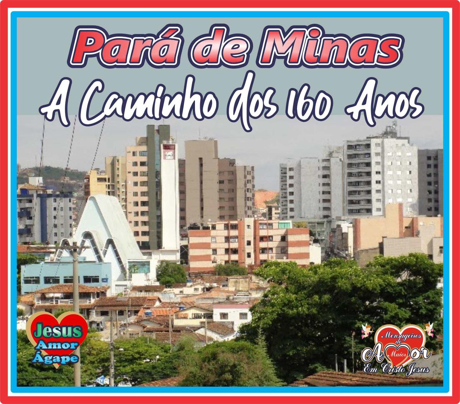 Pará de Minas Tem Jeito Jesus Cristo