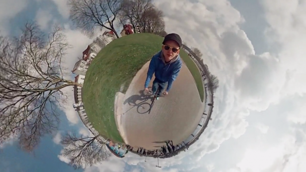 Video filmado com GoPro Hero 3 White a 360 graus- Jonas Ginter
