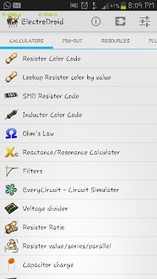 ElectroDroid- Best Reference Android Application for Engineering Students