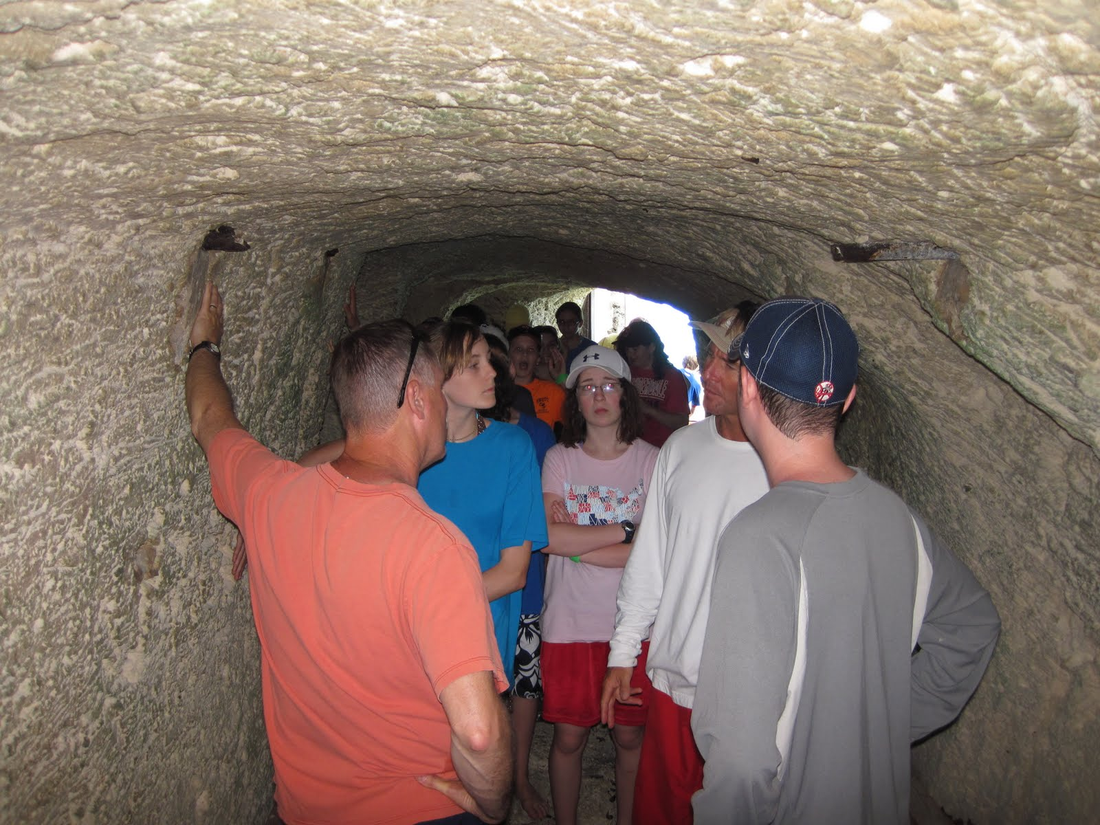 Vernon Bermuda Workshop 2011 Andrew Smith Shorts Cokelat 33 We Also Saw An Air Raid Shelter Dug By Delinquent Boys