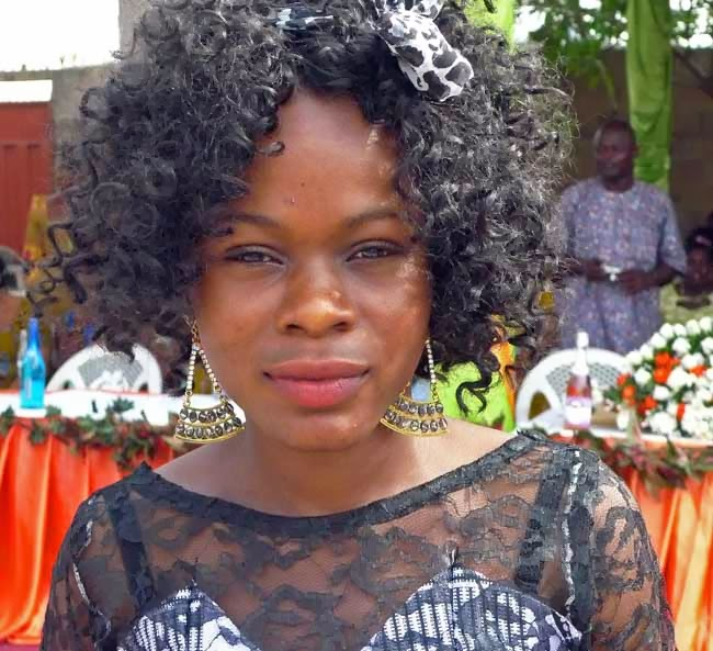 Ghanaian hairdresser