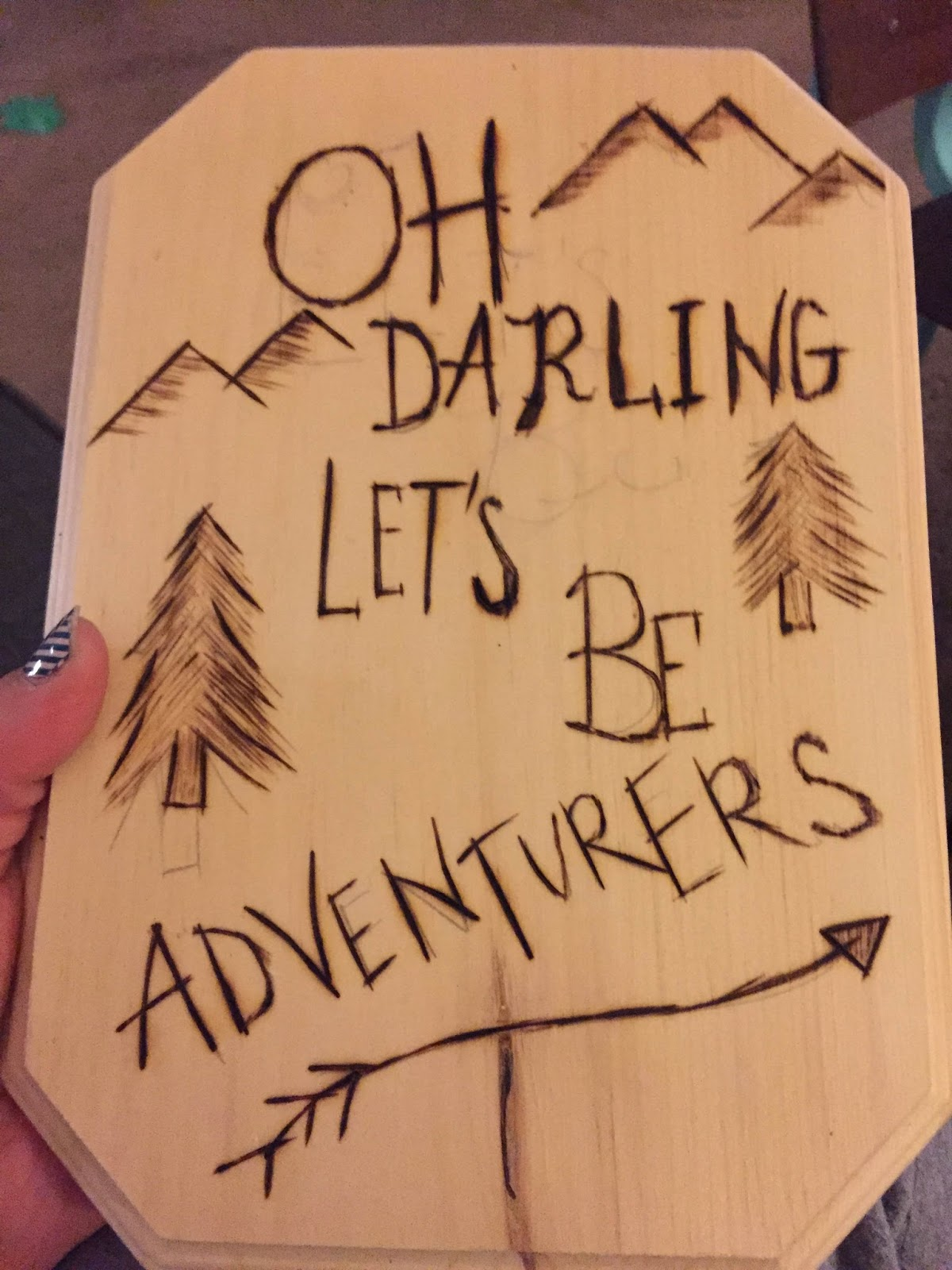 The dabbling crafter may 2015 show tell darby smart wood burning kit spiritdancerdesigns Images