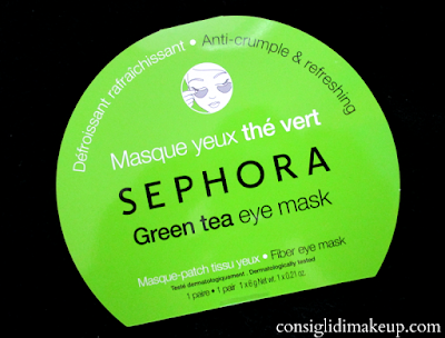 sephora eye patch green tea