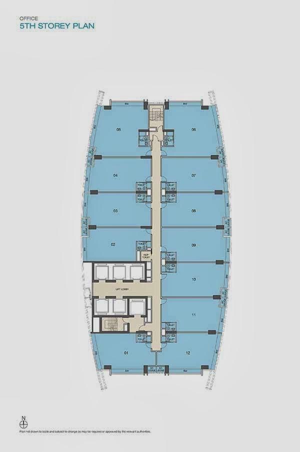 ARC 380 Commercial Office Floor Plan
