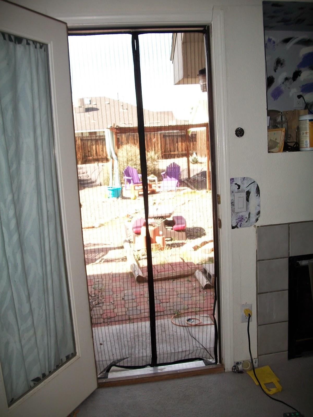 Magnetic Screen Door : Mom knows best mega mesh premium magnetic screen door is