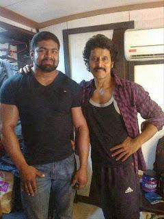 Vikram new slim look in Shankar Movie