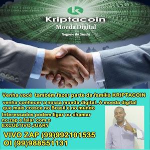 Venha você  também fazer parte da família KRIPTACOIN .