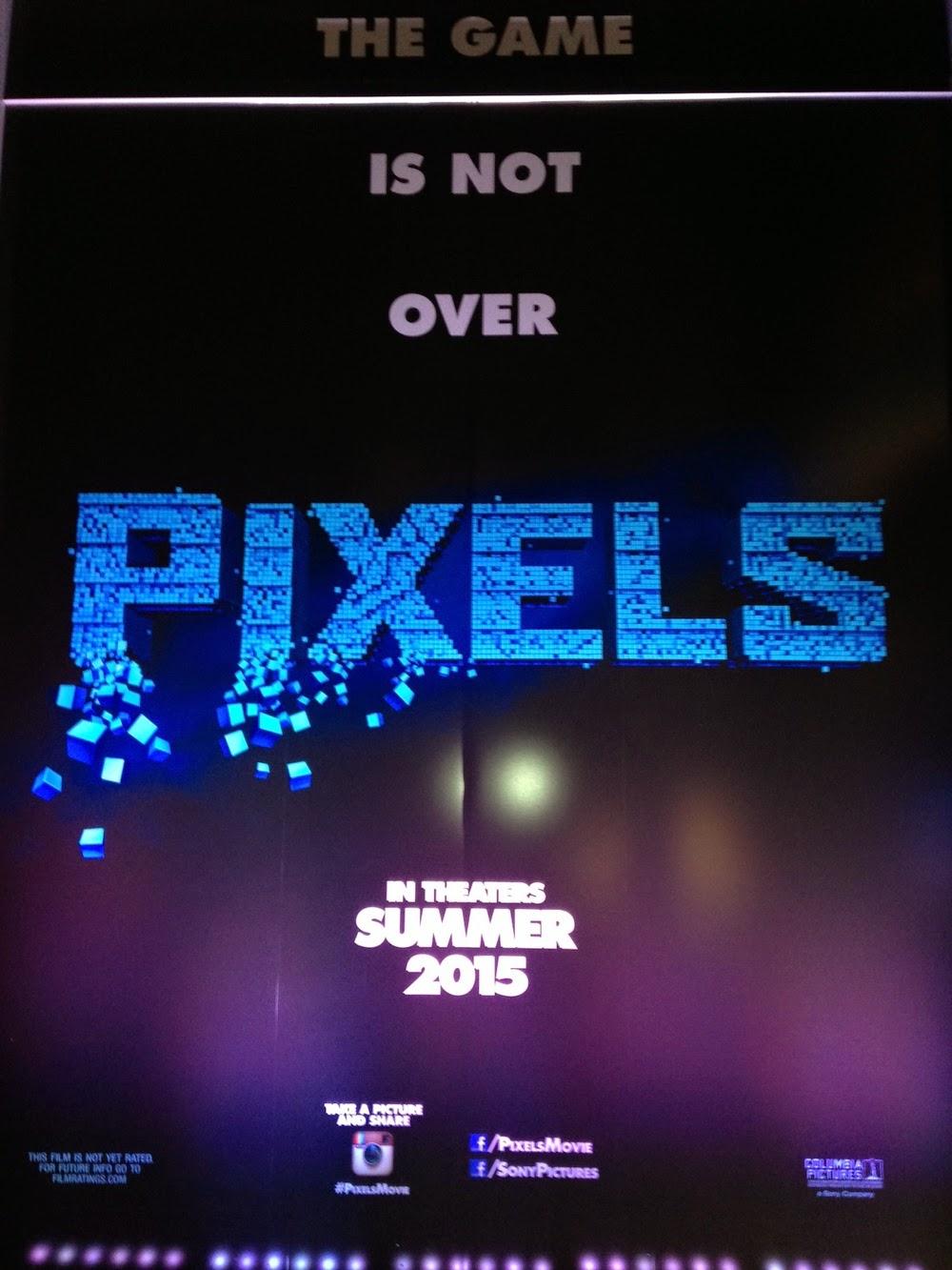 Pixels il film