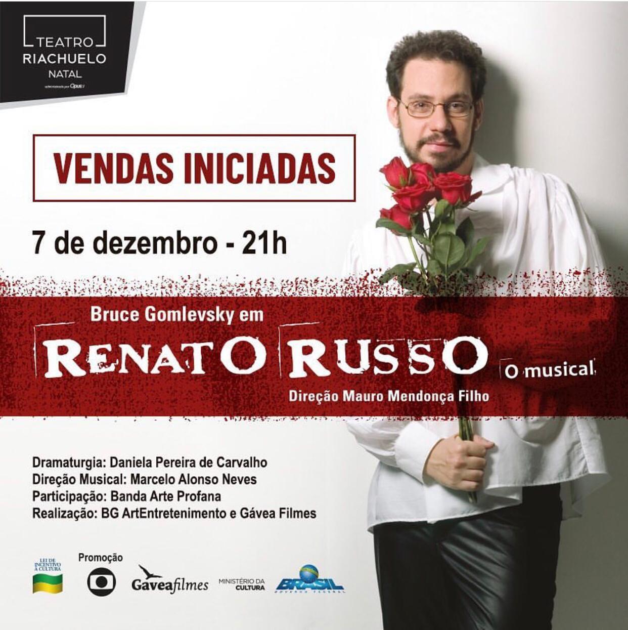 """RENATO RUSSO """"O MUSICAL"""""""
