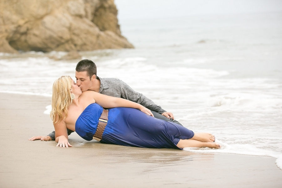 Malibu beach engagement session, Malibu engagement photography, engagement session, engagement shoot, engagement photography