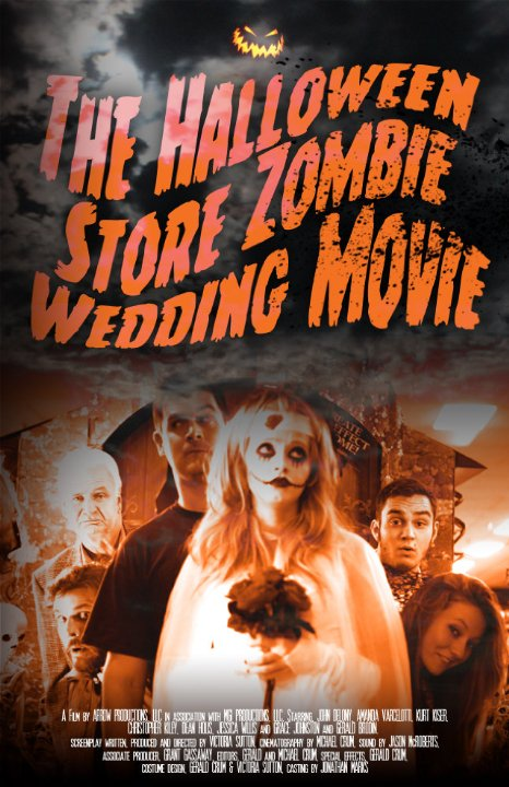 The Horrors of Halloween: THE HALLOWEEN STORE ZOMBIE WEDDING MOVIE ...