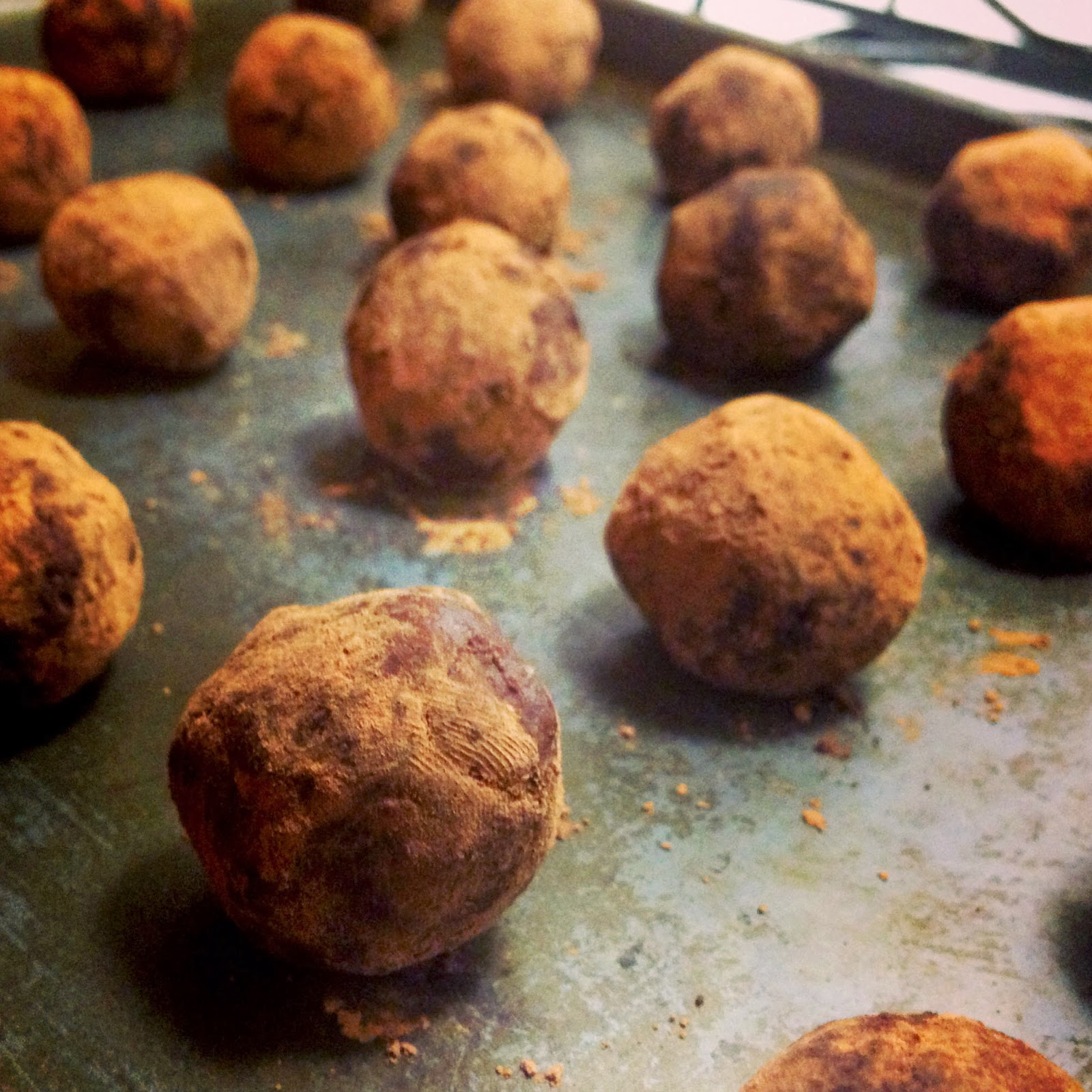 Chocolate Sweet Potato Truffles