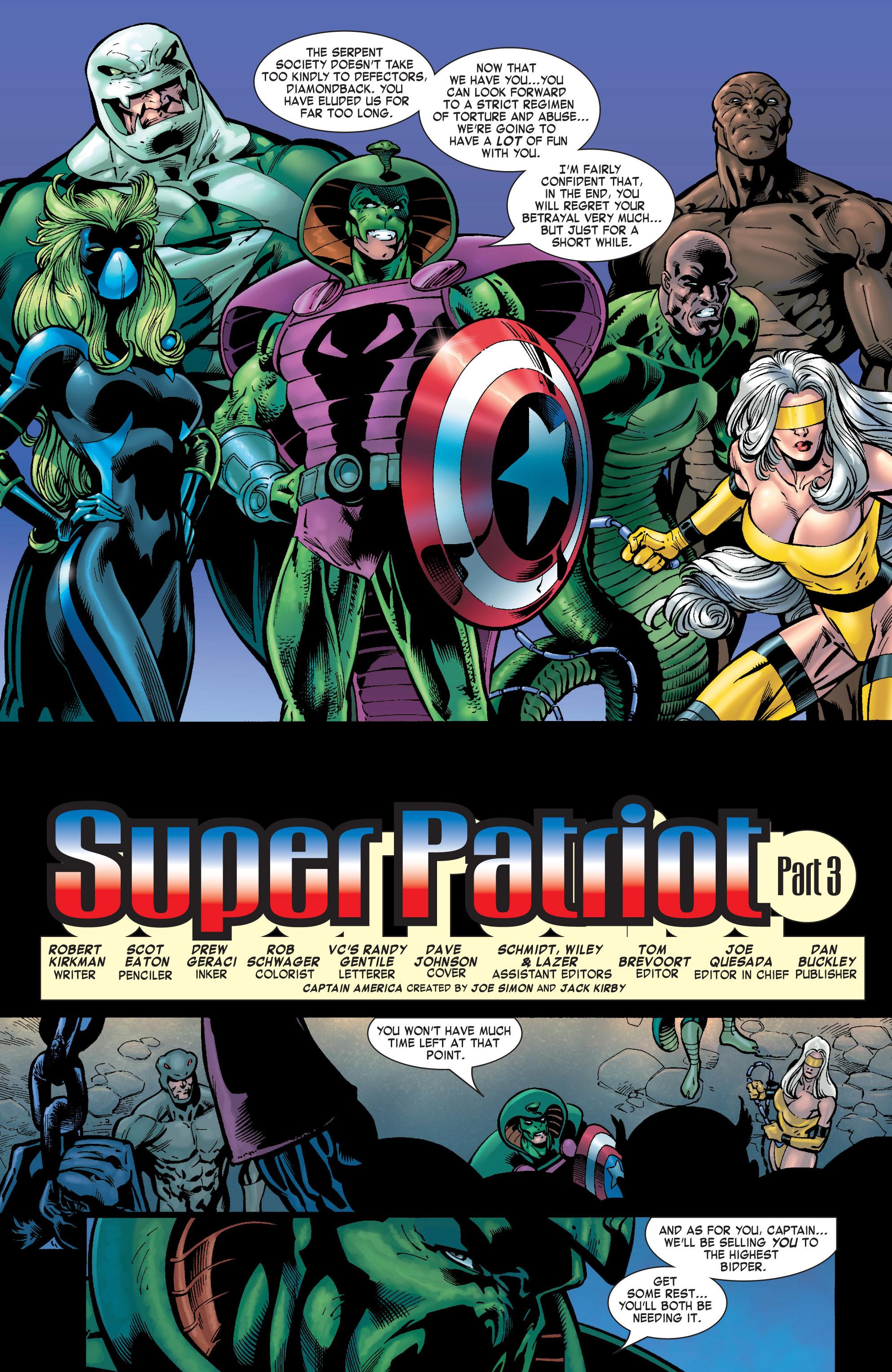 Captain America (2002) Issue #31 #32 - English 3