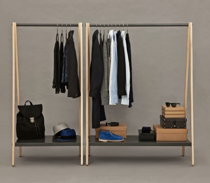 simon legals clothes rack