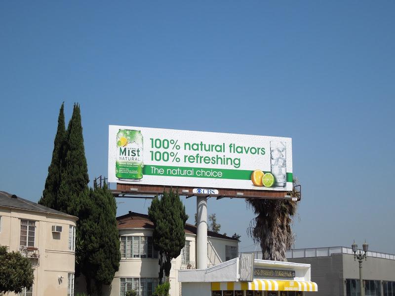 Sierra Mist 100% billboard