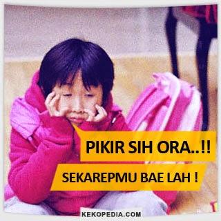 Dp BBM Bahasa Jawa Pikir Sih Ora