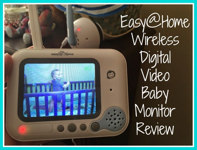 nanny to mommy easy home wireless digital video baby monitor review. Black Bedroom Furniture Sets. Home Design Ideas