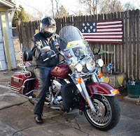 Ted rides out for mBSc chapter ride
