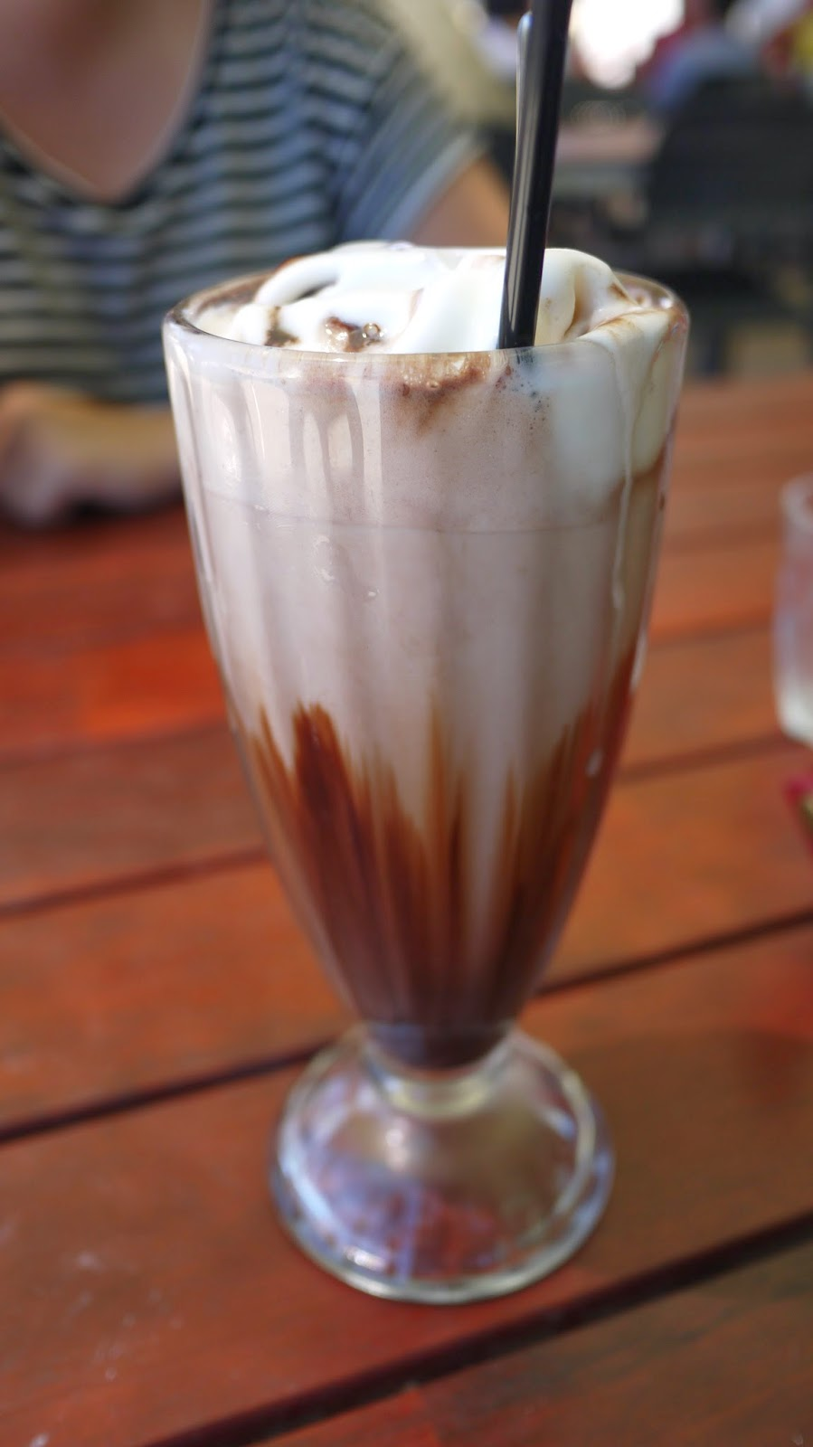Iced Chocolate at The Kiosk on Floreat Beach