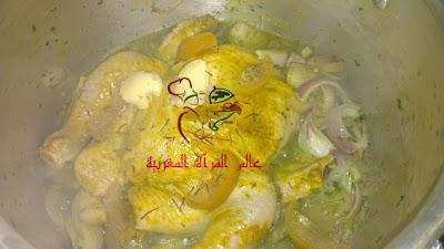 644292 609266732435539 282554621 n بالـــصــــور : طريقة عمل دجاج محمر بمذاق دجاج الأعراس